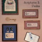 SCRIPTURES II PSALMS BY CONNIE KILLGORE CROSS STITCH CRAFT BOOKLET 1984 NEAR MINT