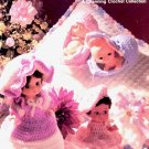 PRECIOUS PALS CROCHET DOLL CLOTHING CRAFT BOOKLET 1982 NEAR MINT