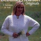 DEBORAH NEWTON ORIGINALS BY LEISURE ARTS KNIT CRAFT BOOKLET 1993 NEAR MINT