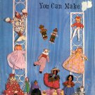DOLLS NEW AND OLD YOU CAN MAKE CRAFT BOOKLET 1967 NEAR MINT