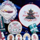 COUNTED BEAD CHRISTMAS CROSS STITCH WITH BEADS CRAFT BOOKLET 1984 NEAR MINT