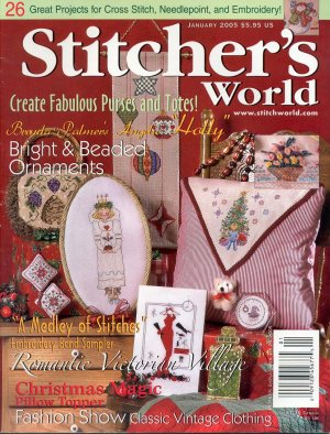 STITCHER'S WORLD BACK ISSUE MAGAZINE JANUARY 2005 NEAR MINT