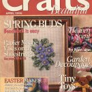 CRAFTS BEAUTIFUL MAGAZINE APRIL 1996 BACK ISSUE VERY GOOD CONDITION