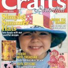 CRAFTS BEAUTIFUL MAGAZINE AUGUST 1996 BACK ISSUE MINT NEW OLD STOCK