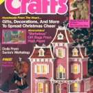 CRAFTS BACK ISSUE MAGAZINE DECEMBER 1988 W/FULL SIZE PATTERNS PULL OUTS VERY GOOD TO NMINT CONDITION