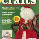 CRAFTS BACK ISSUE MAGAZINE DECEMBER 1990 WITH FULL SIZE PATTERNS PULL OUTS VERY GOOD CONDITION