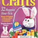CRAFTS MAGAZINE BACK ISSUE APRIL 1999 WITH FULL SIZE PATTERNS PULL OUTS NEAR MINT