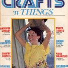 CRAFTS N THINGS BACK ISSUE MAGAZINE SUMMER 1981 GOOD CONDITION