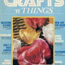 CRAFTS N THINGS BACK ISSUE MAGAZINE JANUARY - FEBRUARY 1982 GOOD CONDITION