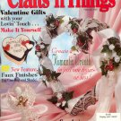 CRAFTS N THINGS BACK ISSUE MAGAZINE FEBRUARY 1997 NEAR MINT CONDITION