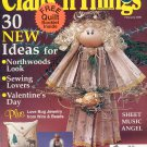 CRAFTS N THINGS BACK ISSUE MAGAZINE FEBRUARY 2000 NOS NEAR MINT