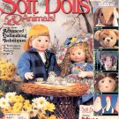 SOFT DOLLS & ANIMALS BACK ISSUE SEWING CRAFTS MAGAZINE SUMMER 1997 MINT