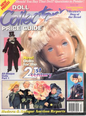DOLL COLLECTOR&#039;S PRICE GUIDE BACK ISSUE MAGAZINE AUTUMN 1995 MINT