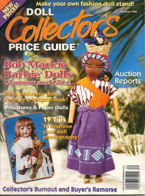 DOLL COLLECTOR&#039;S PRICE GUIDE BACK ISSUE MAGAZINE SUMMER 1998 MINT