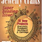 JEWELRY CRAFTS MAGAZINE APRIL 2002 DISCONTINUED NEW OLD STOCK NEAR MINT