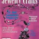 JEWELRY CRAFTS MAGAZINE JUNE 2002 DISCONTINUED NEW OLD STOCK NEAR MINT