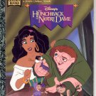 DISNEYS THE HUNCHBACK OF NOTRE DAME LITTLE GOLDEN BOOK 1996 CHILDREN'S HARDBACK NEAR MINT