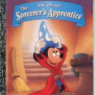 WALT DISNEYS THE SORCERERS APPRENTICE LITTLE GOLDEN BOOK 1994 CHILDREN'S HARDBACK VERY GOOD # 2