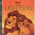 WALT DISNEYS THE LION KING LITTLE GOLDEN BOOK 1996 CHILDREN'S HARDBACK VERY GOOD
