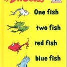 DR. SEUSS ONE FISH TWO FISH RED FISH BLUE FISH 1988 CHILDREN'S HARDBACK BOOK MINT