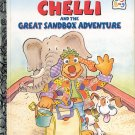 A LITTLE GOLDEN BOOK - CHELLI AND THE GREAT SANDBOX ADVENTURE HB 1ST EDITION 1997 NEAR MINT