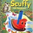 A LITTLE GOLDEN BOOK - SCUFFY THE TUGBOAT # 4 HB 1983 NEAR MINT
