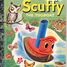 A LITTLE GOLDEN BOOK - CHICK-FIL-A - SCUFFY THE TUGBOAT # 2 HB 1983 VERY GOOD