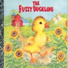 A LITTLE GOLDEN BOOK - CHICK-FIL-A - THE FUZZY DUCKLING # 1 HB 1977 NM TO MINT
