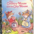 A LITTLE GOLDEN BOOK - CHICK-FIL-A - THE COUNTRY MOUSE & THE CITY MOUSE HB 1992 NEAR MINT