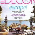 ELLE DECOR MAGAZINE JUNE 2008 CHIC OUTDOOR LIVING WEEKEND HOUSES 57 HOSTS GIFTS NMINT
