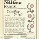 THE OLD-HOUSE JOURNAL ANTIQUE HOUSE RESTORATION & MAINTENTANCE MAGAZINE JUNE 1983 VERY GOOD