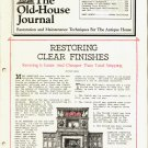 THE OLD-HOUSE JOURNAL ANTIQUE HOUSE RESTORATION & MAINTENTANCE MAGAZINE NOV 1982 NMINT