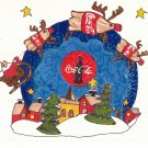 COKE COCA COLA #4 IN SERIES OF 5 - CHRISTMAS COLOR POSTCARD #08 UNUSED 1998 NEAR MINT