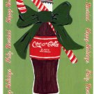 COKE COCA COLA #3 IN SERIES OF 5 - CHRISTMAS COLOR POSTCARD #04 UNUSED 1998 VERY GOOD