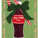COKE COCA COLA #3 IN SERIES OF 5 - CHRISTMAS COLOR POSTCARD #02 UNUSED 1998 GOOD