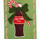 COKE COCA COLA #3 IN SERIES OF 5 - CHRISTMAS COLOR POSTCARD #01 UNUSED 1998 NEAR MINT