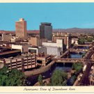 PANORAMIC VIEW DOWNTOWN RENO NEVADA COLOR POSTCARD #24 UNUSED MINT