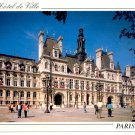HOTEL DE VILLE - PARIS FRANCE COLOR PICTURE POSTCARD #10 UNUSED MINT