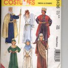 McCALL'S #8436 COSTUMES CHILD BOY & GIRL CHRISTMAS NATIVITY SIZE 6-8 PATTERN CUT USED OOP 1996