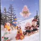 BUTTERICK #5731 - HOLIDAY BEANY BUDDIES SEWING PATTERN UNCUT 1998 NEAR MINT