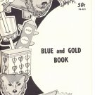 VINTAGE KAP KRAFT BOOKS - BLUE AND GOLD BOOK  # PB-63 KIDS CRAFT BOOKLET MINT