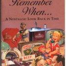 1939 REMEMBER WHEN.... A NOSTALGIC LOOK BACK IN TIME BOOKLET KARDLIT TIMELINE MINT
