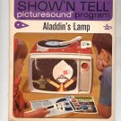 VINTAGE SHOW N TELL PICTURESOUND ALADDIN'S LAMP # 117 GENERAL ELECTRIC 1964 VERY GOOD