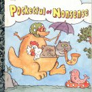 A LITTLE GOLDEN BOOK - POCKETFUL OF NONSENSE # 312-25 CHILDRENS HARDBACK BOOK 1992 VG