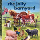 A LITTLE GOLDEN BOOK CLASSIC - THE JOLLY BARNYARD 1ST ED. CHILDRENS HARDBACK BOOK 2004 NEAR MINT
