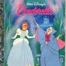 A LITTLE GOLDEN BOOK- WALT DISNEY'S CINDERELLA CHILDRENS HARDBACK BOOK 1986 VERY GOOD