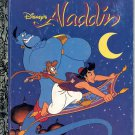 A LITTLE GOLDEN BOOK- #107-88 DISNEY'S ALADDIN #2 CHILDRENS HARDBACK BOOK 1992 VERY  GOOD