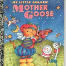 A LITTLE GOLDEN BOOK- MY LITTLE GOLDEN MOTHER GOOSE #300-69 CHILDRENS HARDBACK BOOK 1994 VG