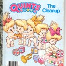 A LITTLE GOLDEN BOOK- #3 QUINTS THE CLEANUP #107-72 CHILDRENS HARDBACK BOOK 1990 VGOOD
