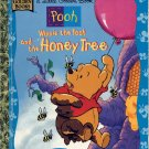 A LITTLE GOLDEN BOOK - WINNIE THE POOH AND THE HONEY TREE # 1 CHILDREN'S HARDBACK BOOK 1998 VG